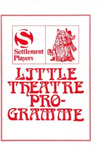 74 on little theatre front cover
