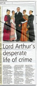 13 lord arthur review